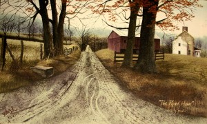 Billy-Jacobs-Folk-Artist-Favorite-Painting-The-Road-Home