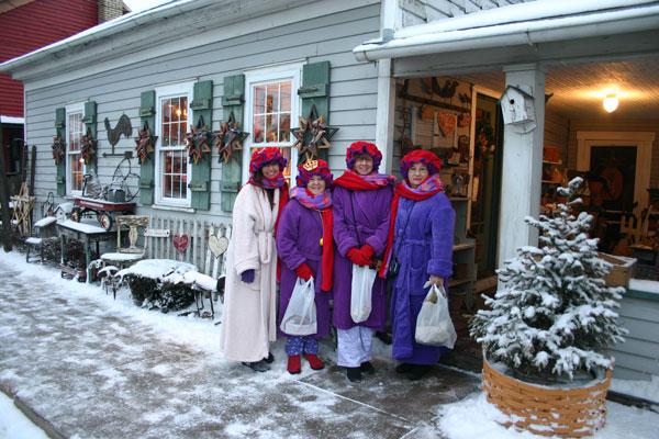 Mennonite clothing store