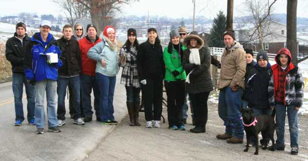 Community Volunteers at Amish Country Half Marathon