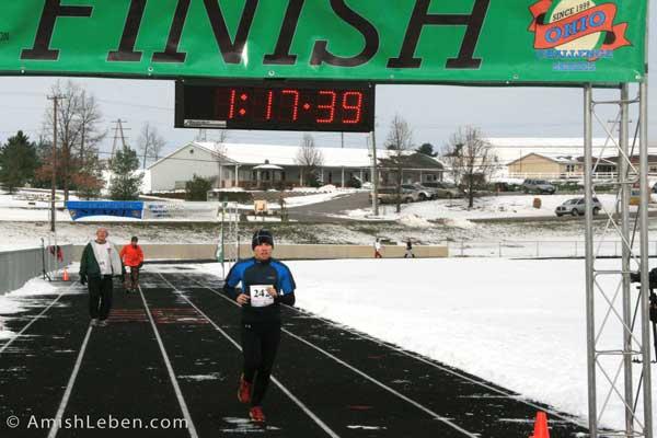 Justin Baum - Winner of the 2013 Half Marathon